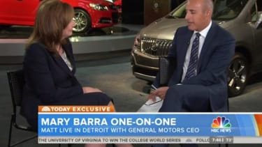 Matt Lauer asks GM CEO if she can be a good boss and mom