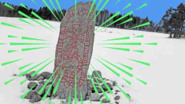 A runestone.