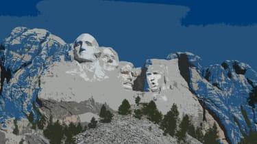 President Trump's Rushmore moment.