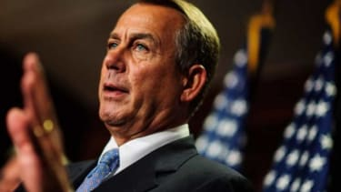 """House Speaker John Boehner """"assumes he can ultimately talk members out of default,"""" reports Politico. But you never know..."""