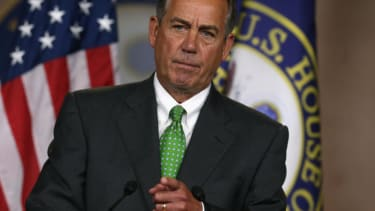 John Boehner knocks 'knuckleheads' in House Republican conference