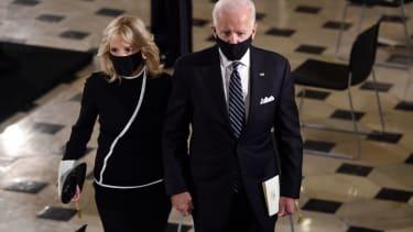Joe Biden and Jill Biden.