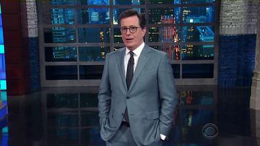 Stephen Colbert recaps the Trump Easter week