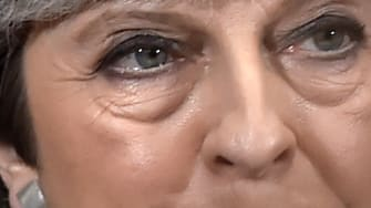 Britain's Prime Minister Theresa May.