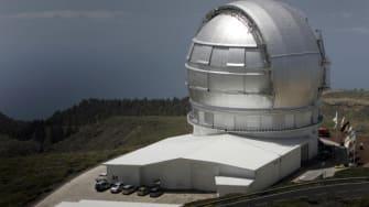 Gran Telescopio Canarias, the world's largest infra-red telescope.