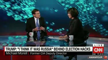 Former CIA acting director Michael Morell talks Trump Russia dossier