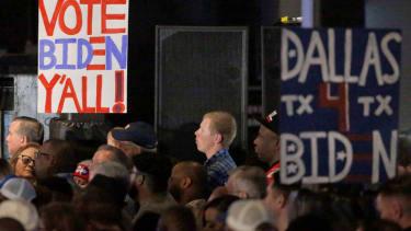 Biden rally in Texas