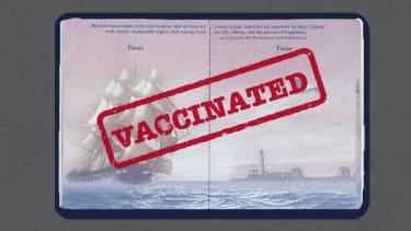 Vaccine passport.