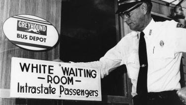 1961, a segregated America.