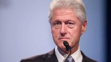 Bill Clinton delivers the closing remarks at the International AIDS Conference in Washington, D.C., in July: On Wednesday night, he'll star at the Democratic National Convention in Charlotte.