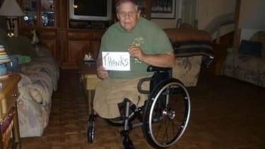 Lowe's employees drop everything to fix Vietnam vet's broken wheelchair