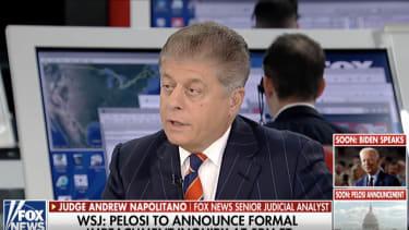 Judge Andrew Napolitano.