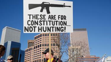 Pro gun protest