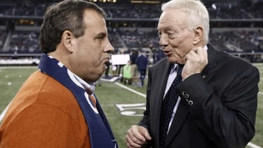Cowboys owner funded Chris Christie's jaunt to watch Dallas' playoff game