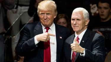 President Trump and VP Pence.