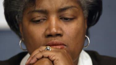 Democratic political strategist Donna Brazile