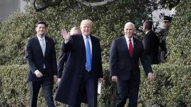 President Trump and his Republican leadership.