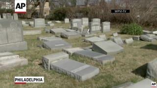 Vandals hit Jewish cemetery in Philadelphia