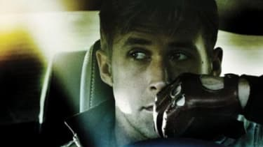 """Part of the buzz for the Ryan Gosling thriller """"Drive"""" is chatter about the movie poster's """"flamboyant, pink script."""""""