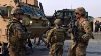 American soldiers in Afghanistan in 2015.