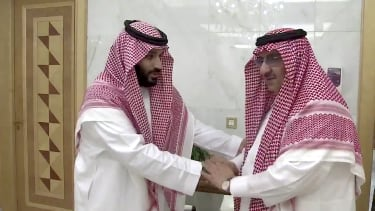 Saudia Arabia former crown prince is reportedly under house arrest