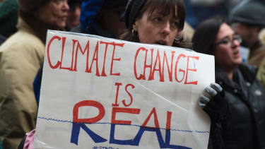 People concerned about climate change are organizing another march on Washington.
