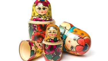 Russian dolls.