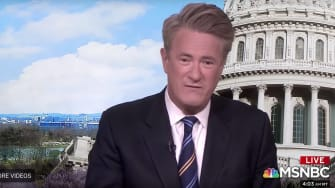MSNBC's Joe Scarborough of Morning Joe.
