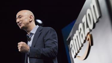 Amazon CEO Jeff Bezos in Seattle