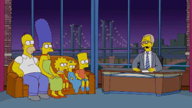 Watch The Simpsons pay tribute to David Letterman