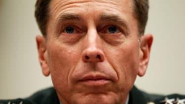 Gen. Petraeus will take over for McChrystal.