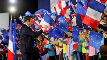 Newly elected French President Emmanuel Macron.