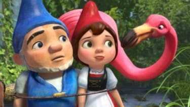 The latest Shakespearean movie adaptation forcibly relocates the Montagues and Capulets to the world of garden gnomes.