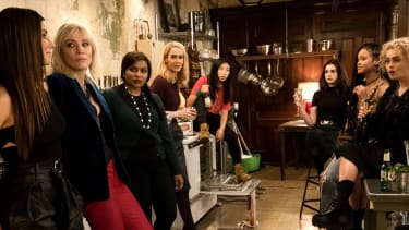 The cast of Oceans 8.
