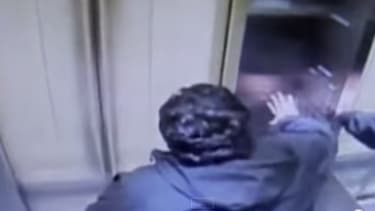 Horrifying video shows man trapped in elevator skyrocketing 31 floors in 15 seconds