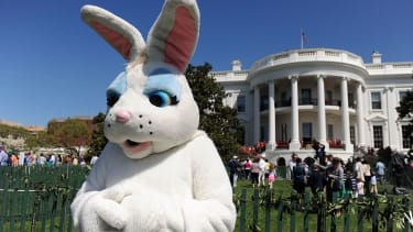 There will be less eggs at the White House Easter Egg roll this year. Will Sean Spicer be this year's bunny?