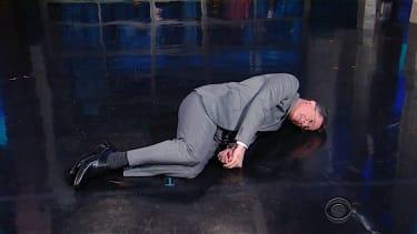 Stephen Colbert is not happy that Donald Trump is the GOP nominee
