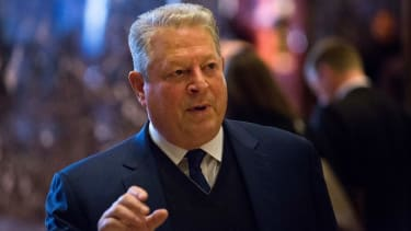 Al Gore at Trump Tower.