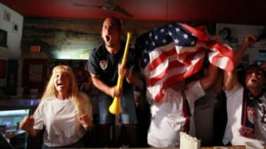 Are Americans finally starting to catch World Cup fever?