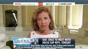 DNC chair Debbie Wasserman Schultz: Obama has issued fewer executive orders 'than any president since Grover Cleveland'