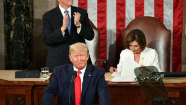 Trump giving 2020 State of the Union