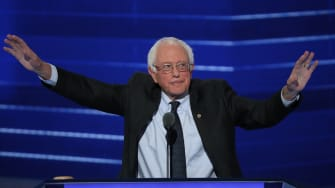 Bernie got something.