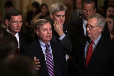Senator Graham, Cassidy, and McConnell.