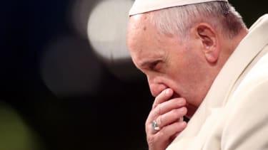 Pope Francis warns of a World War III, 'with crimes, massacres, destruction'