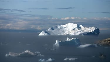 Ice in Greenland.