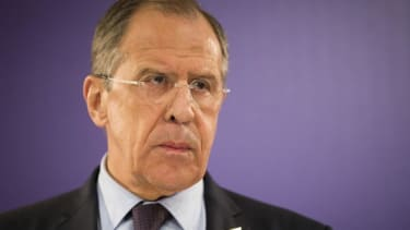 Russian Foreign Minister Lavrov: West trying to 'secure regime change'