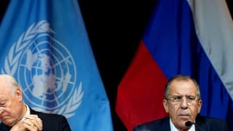 John Kerry met with world leaders in Vienna to discuss Syria's government