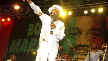 Bunny Wailer performing in 2005.