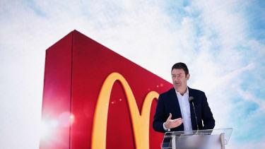 McDonald's CEO Stephen Easterbrook.
