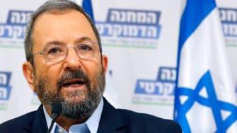 Ehud Barak.